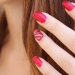 get nail polish out of hair